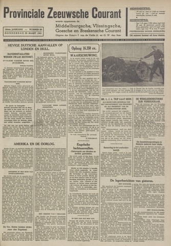 Provinciale Zeeuwse Courant 1941-03-20