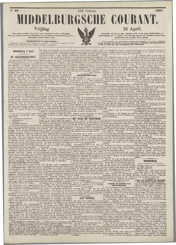 Middelburgsche Courant 1901-04-12