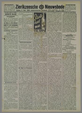 Zierikzeesche Nieuwsbode 1934-02-09