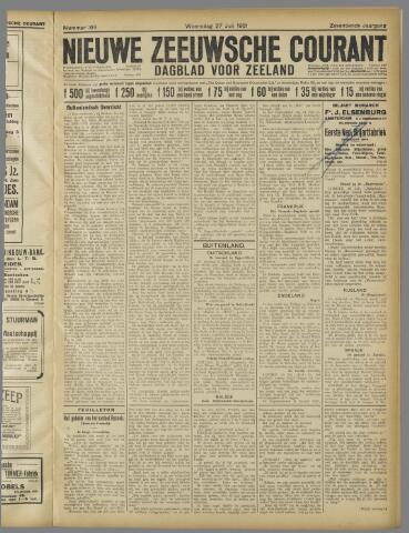 Nieuwe Zeeuwsche Courant 1921-07-27