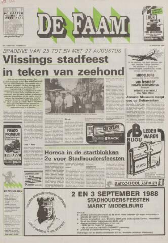 de Faam en de Faam/de Vlissinger 1988-08-17