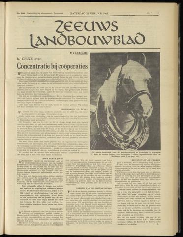 Zeeuwsch landbouwblad ... ZLM land- en tuinbouwblad 1961-02-25
