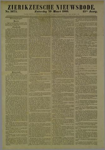 Zierikzeesche Nieuwsbode 1889-03-30