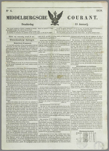 Middelburgsche Courant 1859-01-13