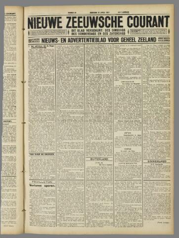 Nieuwe Zeeuwsche Courant 1927-04-19