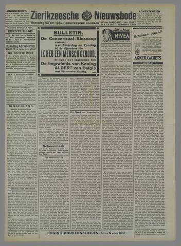 Zierikzeesche Nieuwsbode 1934-02-28