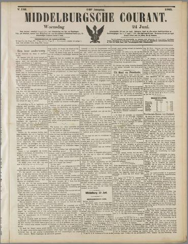 Middelburgsche Courant 1903-06-24