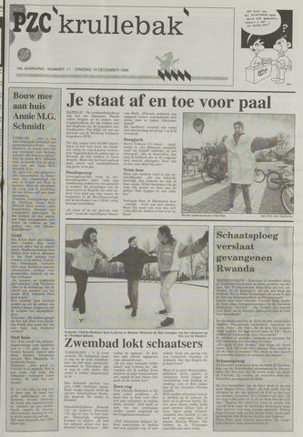 Provinciale Zeeuwse Courant katern Krullenbak (1981-1999) 1996-12-10