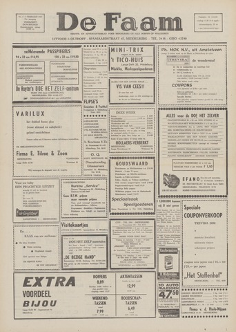 de Faam en de Faam/de Vlissinger 1969-02-06