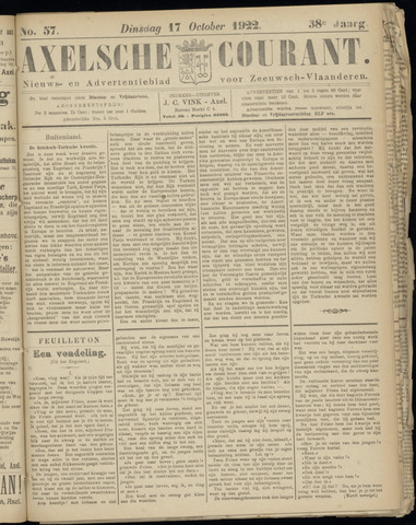 Axelsche Courant 1922-10-17