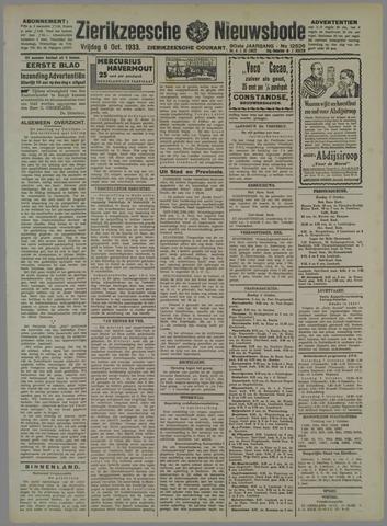 Zierikzeesche Nieuwsbode 1933-10-06