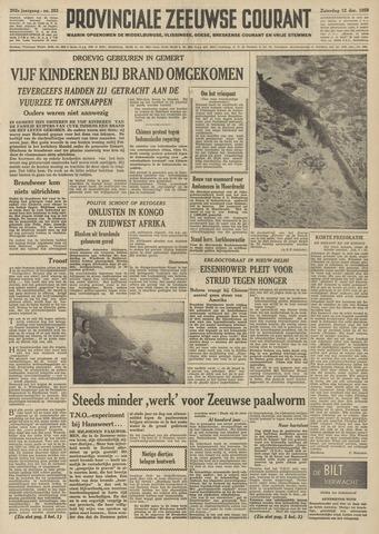 Provinciale Zeeuwse Courant 1959-12-12