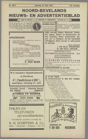 Noord-Bevelands Nieuws- en advertentieblad 1935-04-20