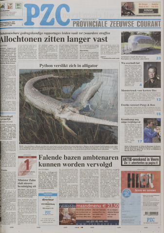 Provinciale Zeeuwse Courant 2005-10-07