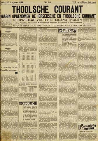 Ierseksche en Thoolsche Courant 1937-08-27