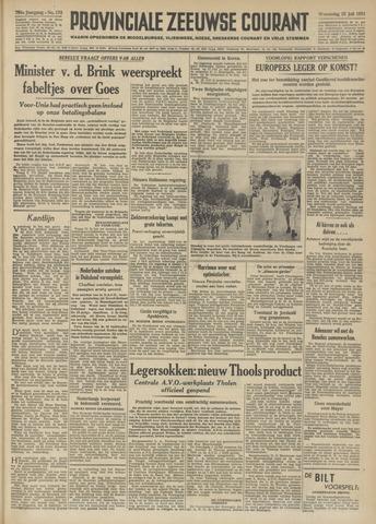Provinciale Zeeuwse Courant 1951-07-25