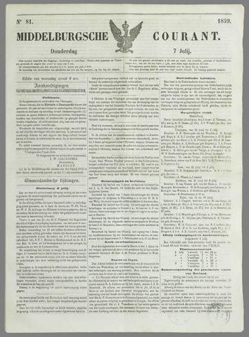 Middelburgsche Courant 1859-07-07