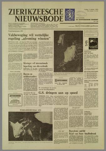 Zierikzeesche Nieuwsbode 1974-10-04