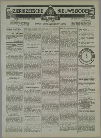 Zierikzeesche Nieuwsbode 1937-10-08