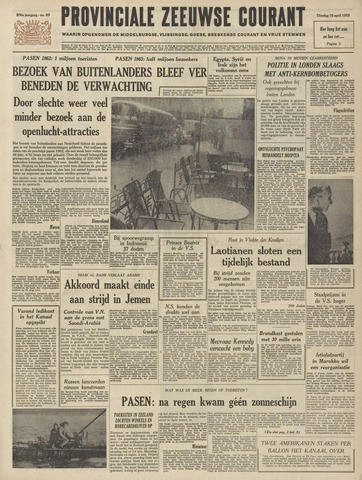 Provinciale Zeeuwse Courant 1963-04-16