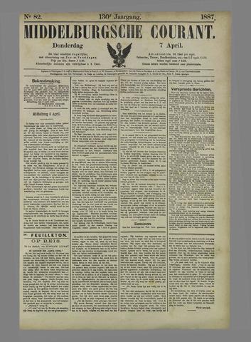 Middelburgsche Courant 1887-04-07