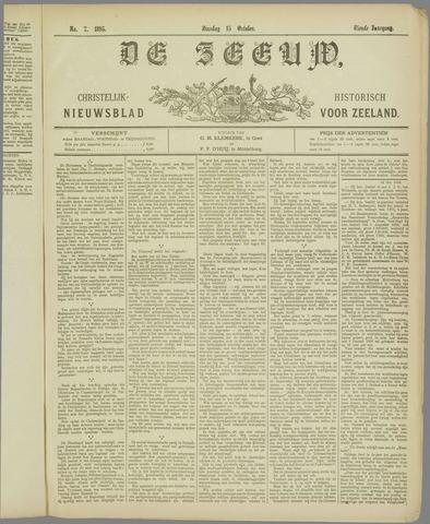 De Zeeuw. Christelijk-historisch nieuwsblad voor Zeeland 1895-10-15