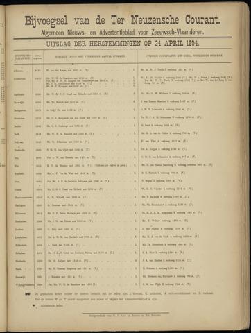 Ter Neuzensche Courant. Algemeen Nieuws- en Advertentieblad voor Zeeuwsch-Vlaanderen / Neuzensche Courant ... (idem) / (Algemeen) nieuws en advertentieblad voor Zeeuwsch-Vlaanderen 1894-04-25