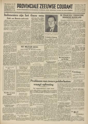 Provinciale Zeeuwse Courant 1949-08-03