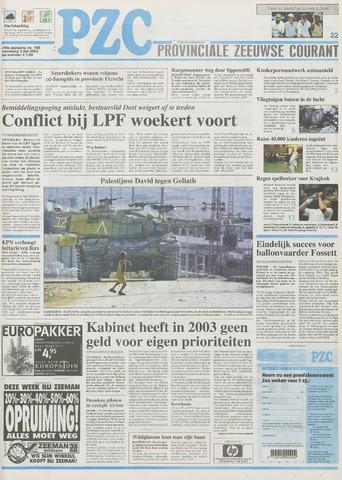 Provinciale Zeeuwse Courant 2002-07-03