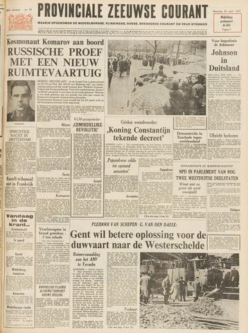 Provinciale Zeeuwse Courant 1967-04-24