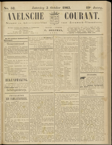 Axelsche Courant 1903-10-03