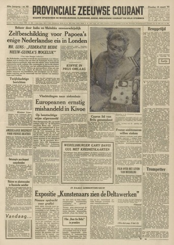 Provinciale Zeeuwse Courant 1961-03-14