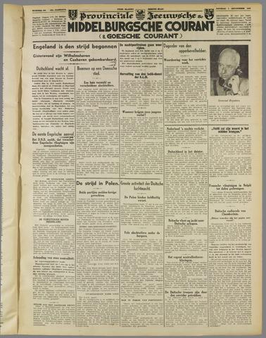 Middelburgsche Courant 1939-09-05