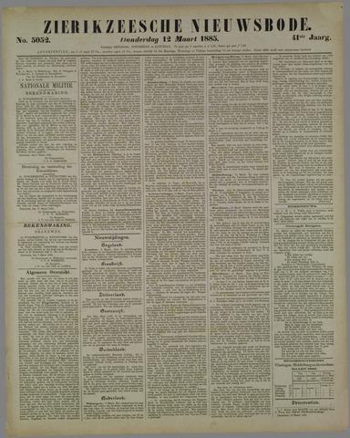 Zierikzeesche Nieuwsbode 1885-03-12