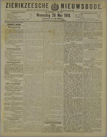 Zierikzeesche Nieuwsbode 1915-05-26