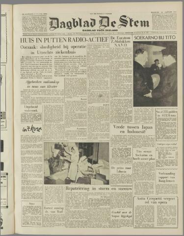 de Stem 1958-01-20