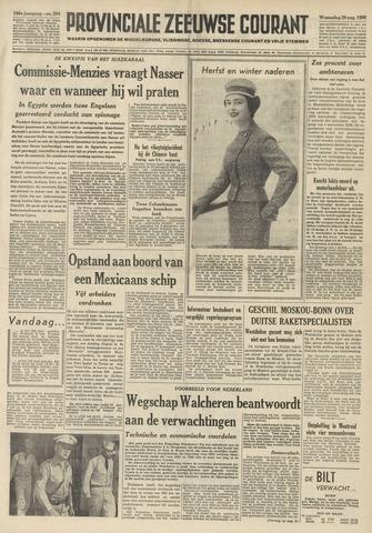 Provinciale Zeeuwse Courant 1956-08-29
