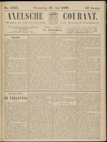 Axelsche Courant 1899-07-26