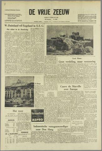 de Vrije Zeeuw 1963-02-08