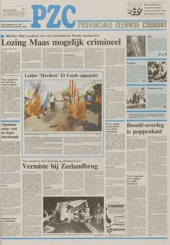 Provinciale Zeeuwse Courant 1993-11-30