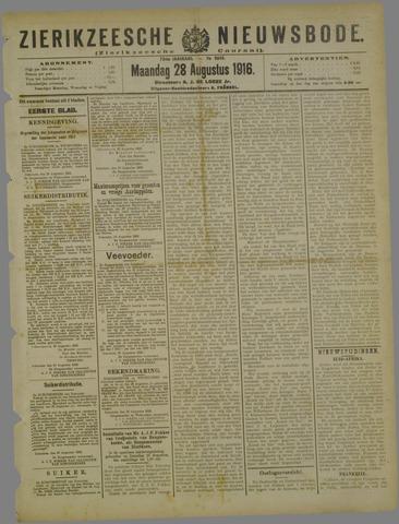 Zierikzeesche Nieuwsbode 1916-08-28