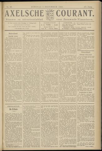Axelsche Courant 1931-12-01