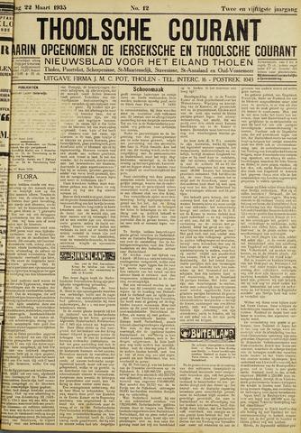 Ierseksche en Thoolsche Courant 1935-03-22