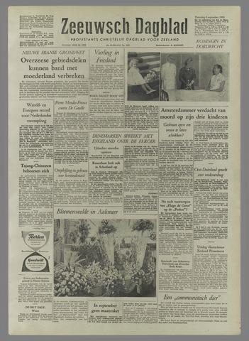 Zeeuwsch Dagblad 1958-09-06