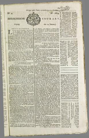 Zierikzeesche Courant 1814-01-14