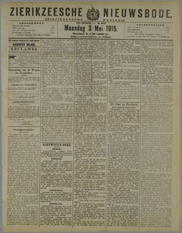 Zierikzeesche Nieuwsbode 1915-05-03