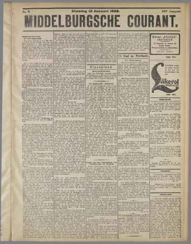 Middelburgsche Courant 1922-01-10