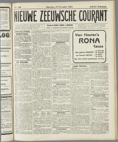 Nieuwe Zeeuwsche Courant 1912-11-23
