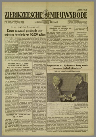 Zierikzeesche Nieuwsbode 1960-07-08