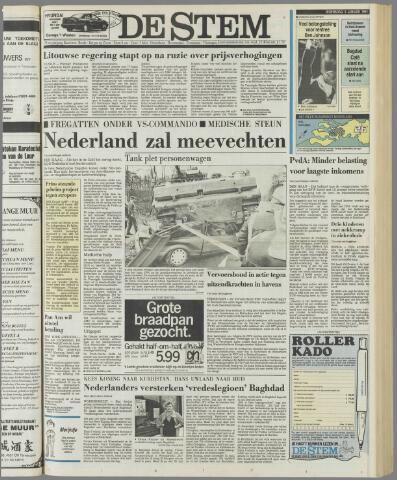 de Stem 1991-01-09